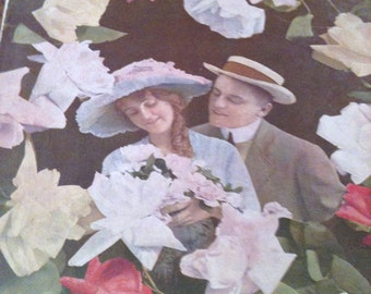 I Found You Among The Roses - Vintage Sheet Music