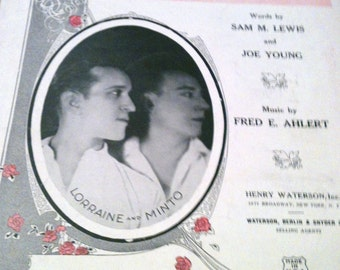 Put Away a Little Ray of Golden Sunshine for a Rainy Day - Vintage sheet music - 1924