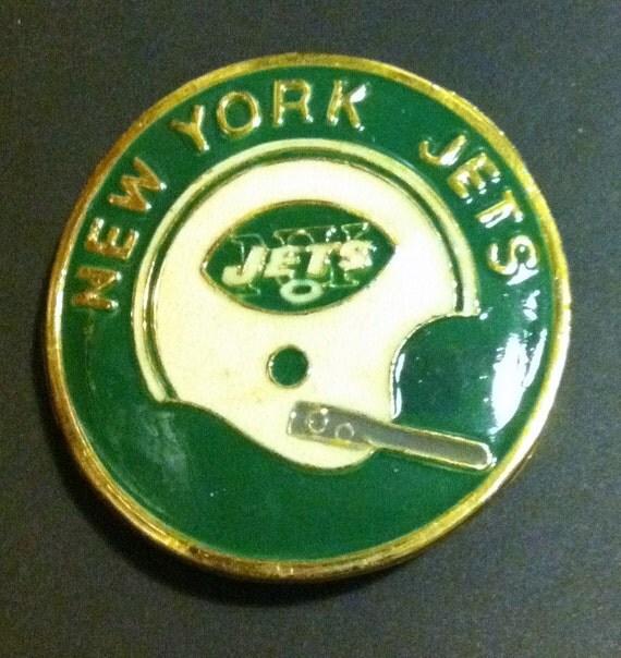NY Jets belt buckle