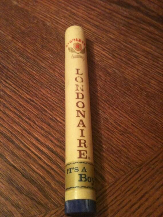 Londonaire cigar tube - It's a Boy