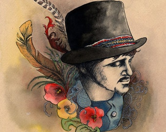 The Gypsy King - giclee print
