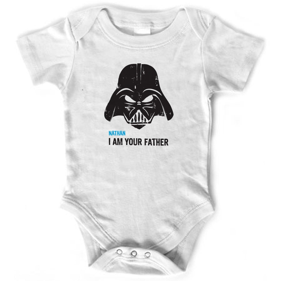 Star Wars I Am Your Father Personalized Onesie Baby