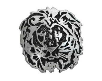 2 Lion 1 inch ( 25 mm ) Pewter Buttons