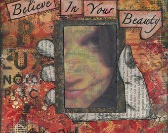 Believe In Your Beauty Body Fab-YOU-lous Print