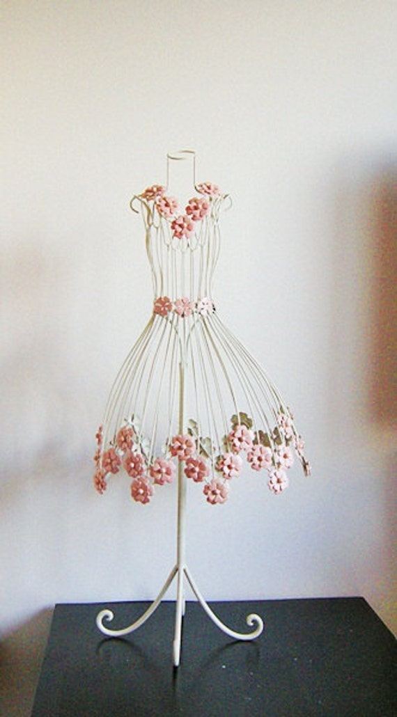 Sweet Flower Jewelry Table Display Dress Form Mannequin