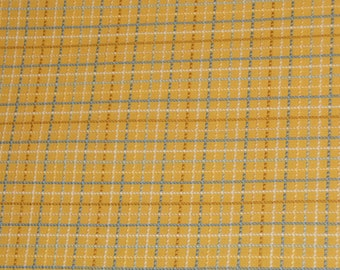Waverly Yellow and Blue Plaid, Yardage