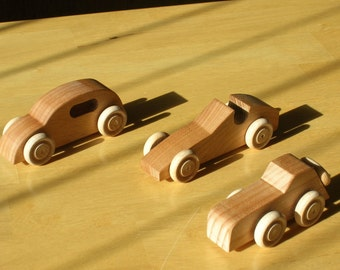 Wood Toy Cars - Group A