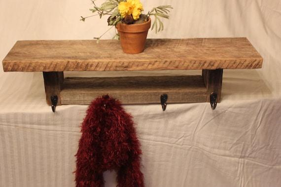 Barnwood Shelf, Recycled wood, primitive, cottage, old wood