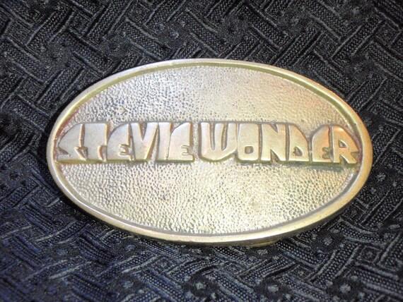 Early seventies Stevie Wonder buckle