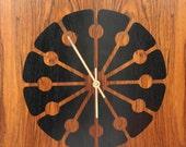 NEW PRICE Mid Century Drexel Declaration Floor Clock Designed by Kipp Stewart