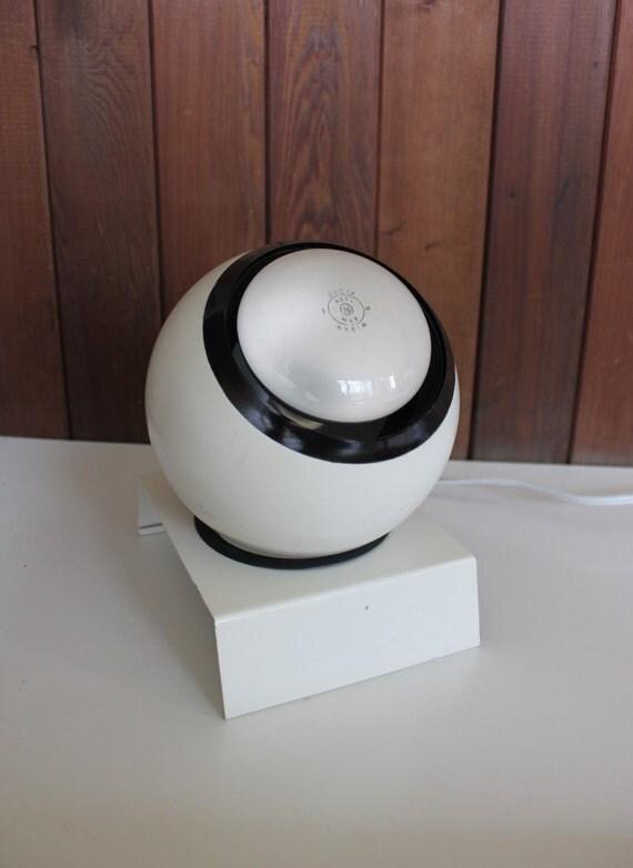 Vintage Mid Century Mod Orb Lamp