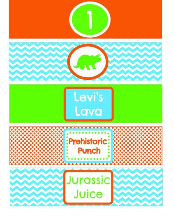Dino Party Printables Package