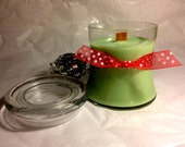 Soy Woodwick Candle Peppermint 12 oz