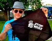 STOP WARS bandana by Freedom's Phoenix - black