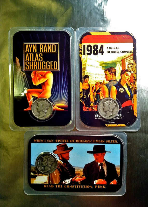 Silver Dime Trading Cards - Liberty Fiction Collection
