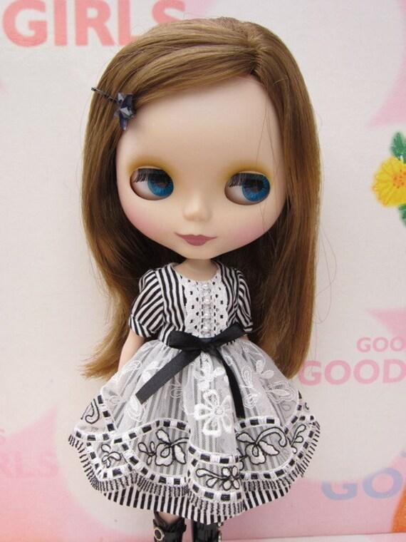 Stripe Dress for Blythe