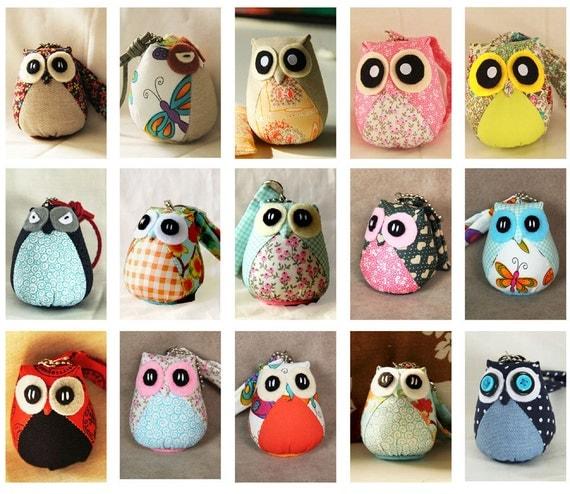 Lula - the Little Cute Owl Doll with Bag: plush, keychain, children, kid, baby, boy, girl, kid, soft, flower, garden, easter, bag charm