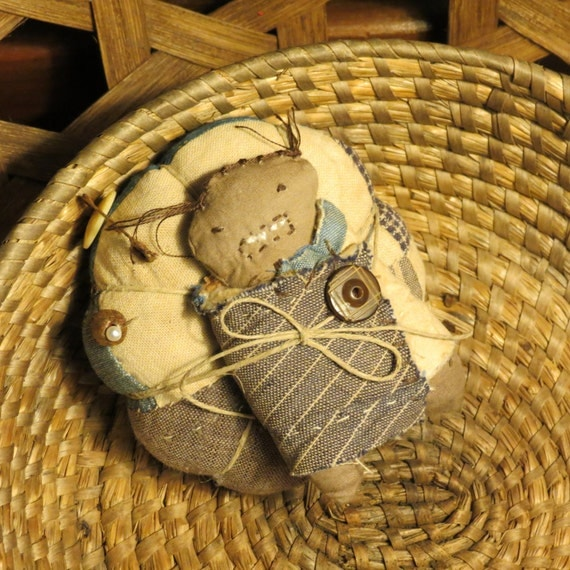 Primitive Pinkeep & Make-do doll