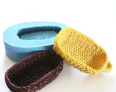 Miniature Food Basket Cabochon 35mm Bakery Silicone Flexible Mold 138L BEST QUALITY