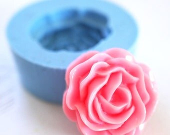 Rose Flower Cabochon 23mm Bakery Silicone Flexible Mold 104mf BEST QUALITY