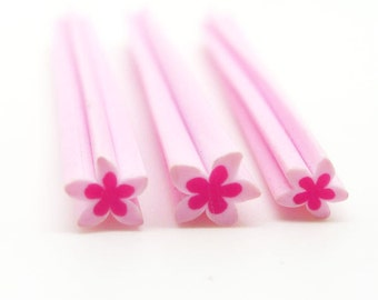 Flower Polymer Clay Cane / Fimo Cane For  Nail Art Decoration, Miniature Food / Dessert / Cake Decoration, Scrapbooking - PC076