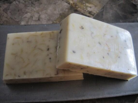 Goat's Milk Soap-Honey & Calendula 4oz bar
