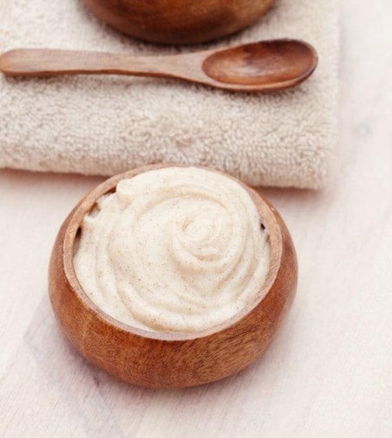 Almond Body Polish 8 ounce Emulsified Sugar Scrub