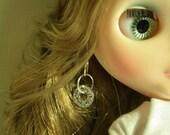 Tibetan silver rings earrings for BLYTHE