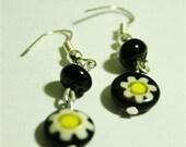 Flower Glass earrings for BLYTHE
