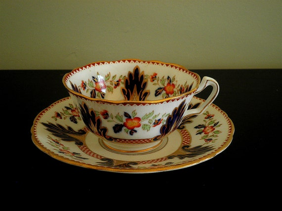 English Bone China Demitasse and saucer