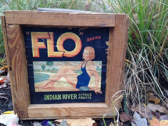 Indian River Citrus Fruit Crate
