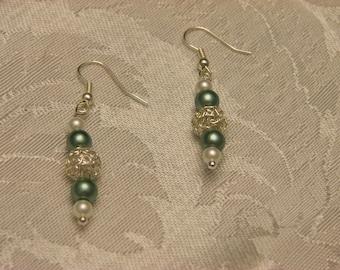 Sensational Sage Earrings   Item #1074