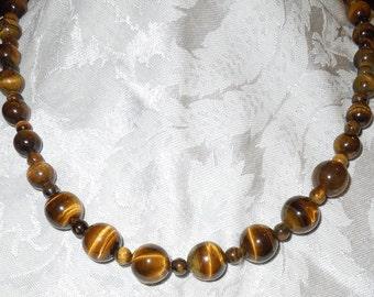 "Tigereye 22"" Necklace  #1007"