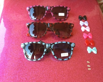 make your own smiley hello kitty sunglasses