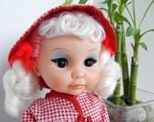 vintage plastic doll groovy 60's era hong kong