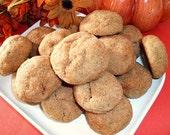 Pumpkin Ginger Pecan Cookies