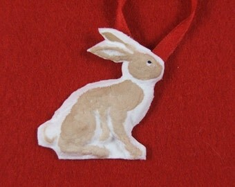 1.5 Inch Paper Press Bunny Rabbit
