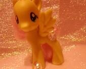 My Little Pony FiM Friendship is Magic OOAK Custom Decoden Frosted Fluttershy