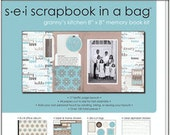 SEI Scrapbook in a Bag - Granny's Kitchen Brand New