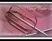 Vintage Electric Hand Mixer Beaters Shabby Chic Art Deco