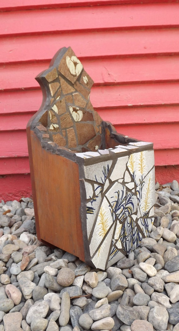 Mosaic letter box