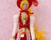 Handmade Tilda-Little Red Riding Hood