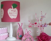 Apple personalised lampshade