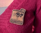 Polaroid paper pin