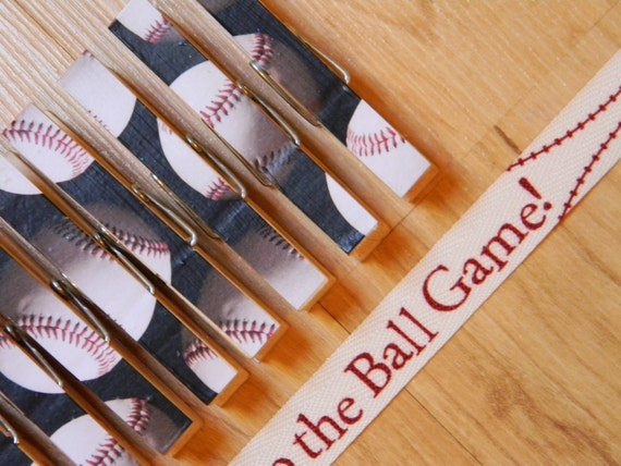 Baseball theme Ribbon Art Gallery/Garland  Take me out to the Ballgame Baseball theme