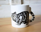 VTG Cat Tale Coffee Cup