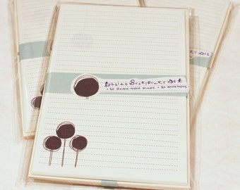 Lollies Stationery Set