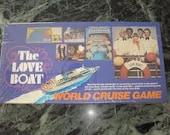 "Vintage Board Game ""The Love Boat"""