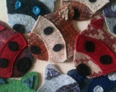 Moonrise Kingdom Inspired Felt Raccoon Patch Badges - Limited Edition, In Your Colour