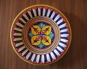 Maiolica Ceramic Plate 11,8 inch